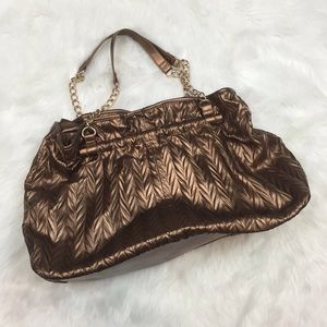 ☂️CHARMING CHARLIE Large Copper Purse